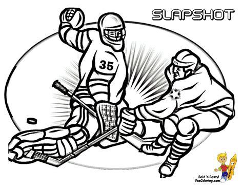 Nos Jeux De Coloriage Hockey à Imprimer Gratuit