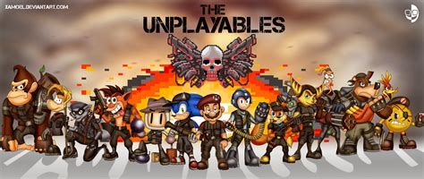 Ratchet And Clank Wallpaper The Unplayables By Xamoel On Deviantart