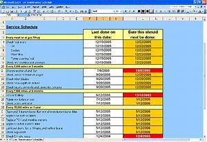 Day To Day Budget Spreadsheet Car Maintenance Schedule Spreadsheet Business Form