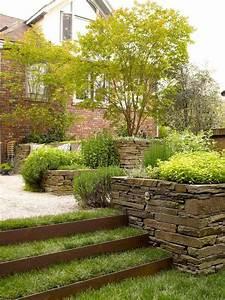 jardin en pente idees d39amenagement et conseils With amenagement jardin en pente
