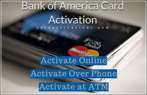You just need to arrange computer and internet connection for this purpose. Bank Of America Credit Card Pin Activation