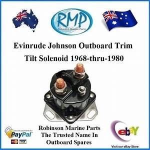 A Brand New Evinrude Johnson Outboard Trim Tilt Solenoid