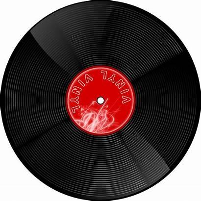 Vinyl Record Clipart Domain Vector Gramophone Clip