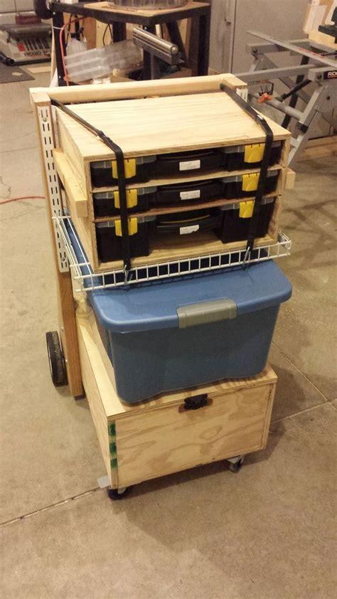 mobile toolbox  work station diy barkacsasztalka