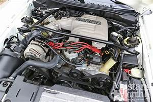 1995 Ford Mustang Cobra R Engine Bay