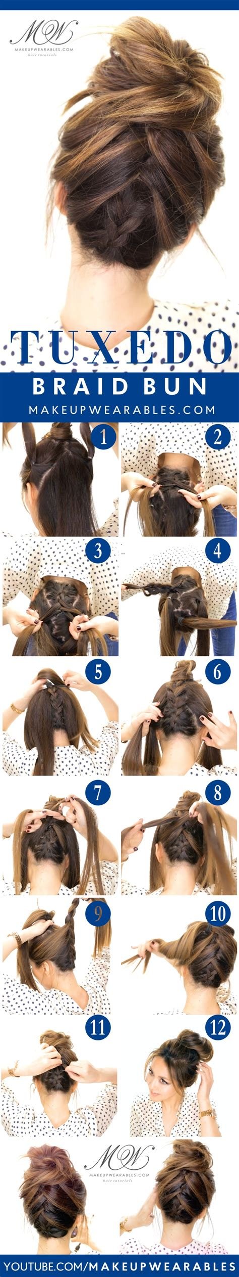 easy  cute hair tutorials   occassion