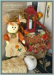 Fall, U0026, Harvest, Entryway, Decor, Designed, By, Jacqueline