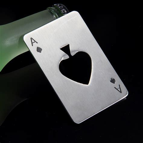 Creative Poker Card Beer Bottle Opener Personalized Funny