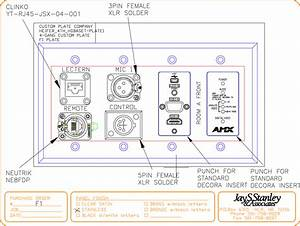 Lectern Wall Plate Diagram