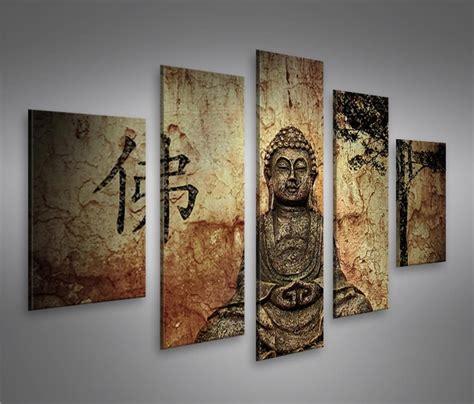 Bilder Auf Leinwand Buddha V10 Mf Kunstdruck Xxl Bild