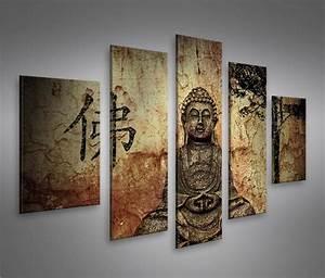 Dreiteilige Bilder Auf Leinwand : bilder auf leinwand buddha v10 mf kunstdruck xxl bild poster le kaufen ~ Orissabook.com Haus und Dekorationen