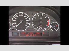 BMW E38 E39 Cluster voltage and Alternator test E46 and