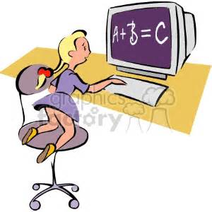 Computer Students Clipart (35+)