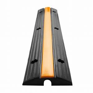 22000lbs 4pcs 1 Channel Rubber Cable Protector Ramps Wire