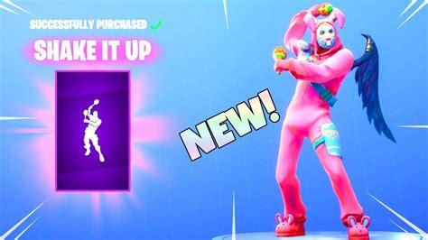 shake   dance emote  item shop update