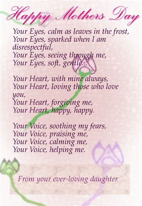 mothers day quotes and poems best mothers day poems