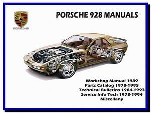 Porsche 928  1978-1995  - Service Manual - Wiring Diagram