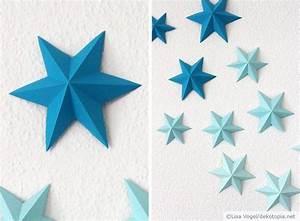 Papiersterne Basteln Anleitung : die besten 25 3d origami wanddeko ideen auf pinterest ~ Lizthompson.info Haus und Dekorationen