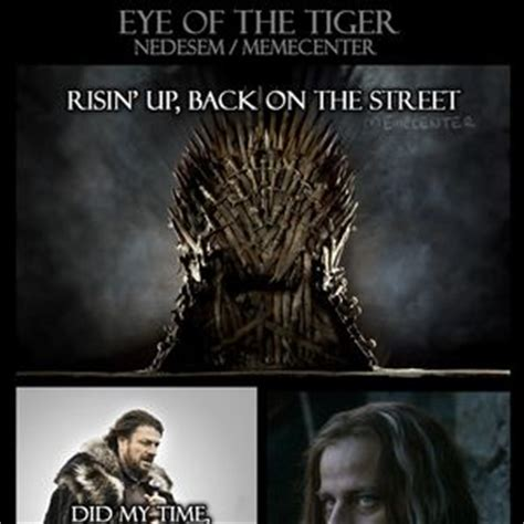 Eye Of The Tiger Meme - what i think of when i see people fighting online by ixx meme center