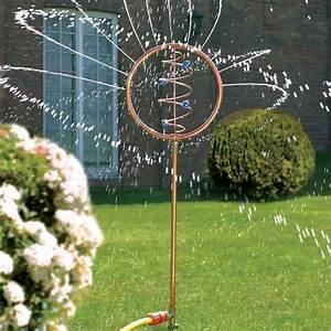 Pro Idee Garten : blue swirl wasserspiel kunstobjekt wasserskulptur ~ Watch28wear.com Haus und Dekorationen