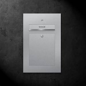 Briefkasten Mit Klingel Aufputz : briefkasten edelstahl b2 bell z e ~ Sanjose-hotels-ca.com Haus und Dekorationen
