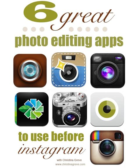 apps to make fan edits 6 great photo editing apps to use before instagram