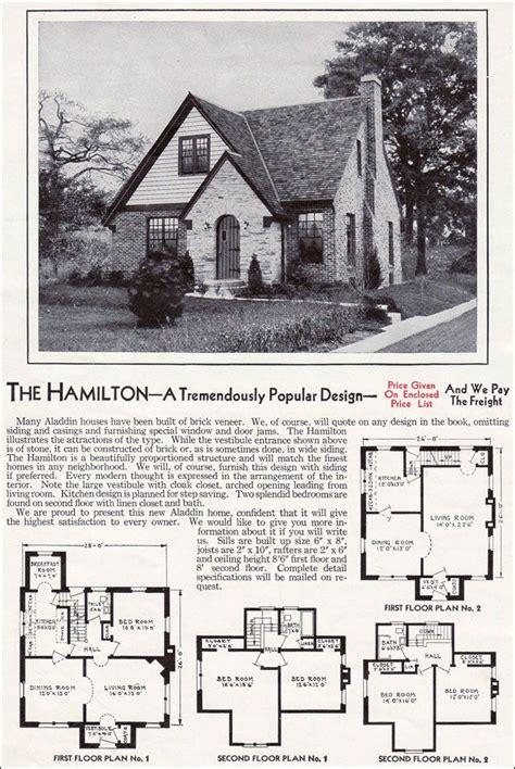 era house plans 1940 kit homes catalog the hamilton wwii era
