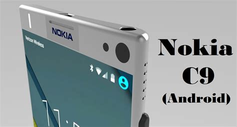 newest android nokia c9 android smartphone coming soon with 16mp