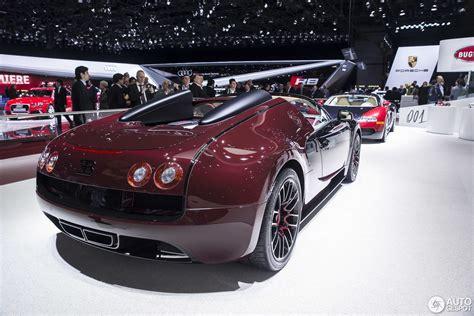 Bugatti La Finale Price by Geneva Motor Show Bugatti Veyron Grand Sport Vitesse La