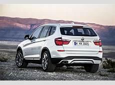 World Premiere 2015 BMW X3 Facelift