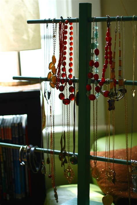 rare bird diy thrift store jewelry display