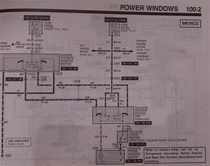 1991 Tailgate Wiring Diagram - 80-96 Ford Bronco