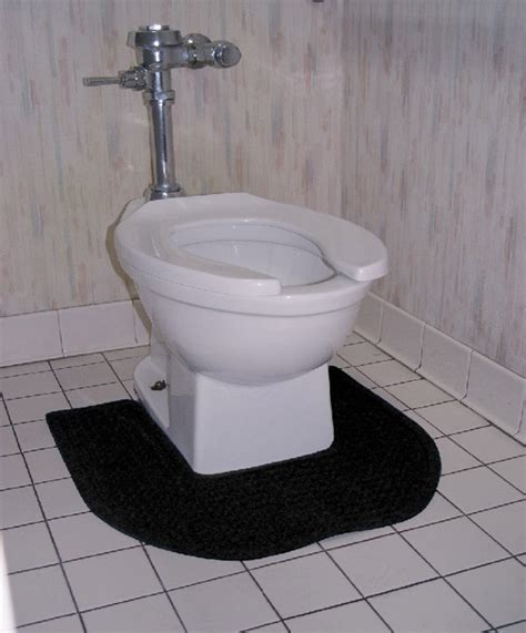 Toilet Floor Mats by Bathroom Toilet Mats Are Anti Bacterial Commode Mats By