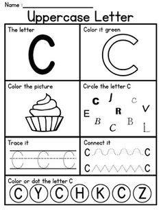 letter worksheets set   images alphabet