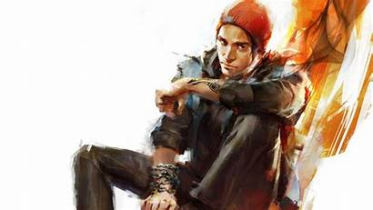 Infamous Second Son Delsin Rowe Wallpapers Hdr