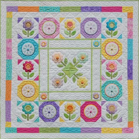 quilting blocks   month machine embroidery books