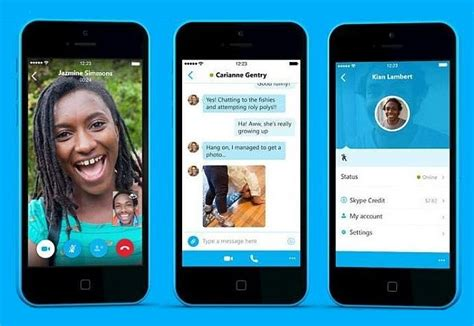 skype app for iphone skype 5 0 for iphone with all new ui now available for