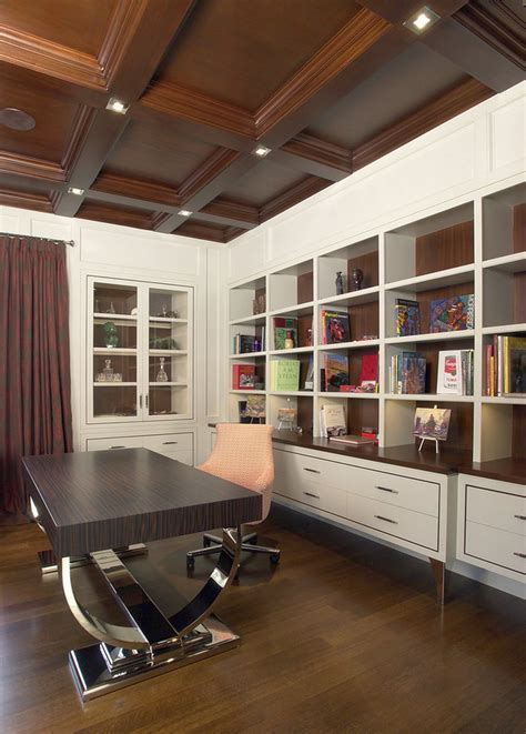 add personality   interior   coffered ceiling
