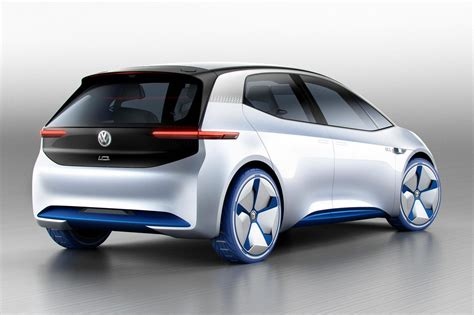 Electric Car by Visionary I D Heralds Vw S All Electric Future By Car