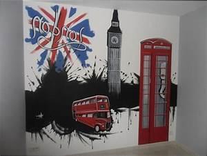 Chambre Fille : idee deco chambre ado fille london