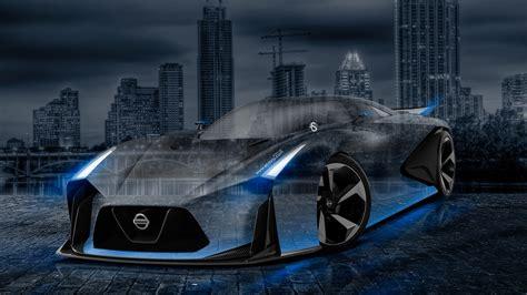 nissan gtr  concept crystal city car  wallpapers