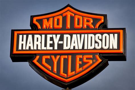 Harley Davidson Signs Decor by Harley Davidson Sign Photograph By David Patterson