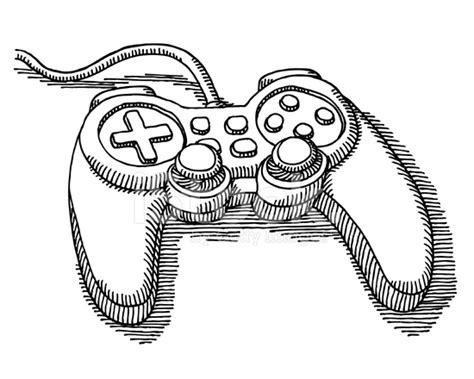 video game controller drawing stock  freeimagescom