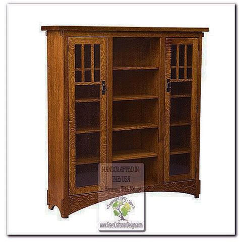 Mission Style Bookcases Inspiration Yvotube
