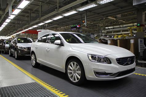 volvo cars manufacturing plant  chengdu delivering