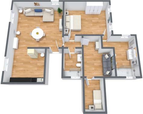 planimetria da letto nuovo appartamento venezia san marco con 3 camere