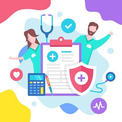 See insurance logo stock video clips. Health Insurance Concept Vector Illustration Medical Insurance Modern Flat Design Graphic ...
