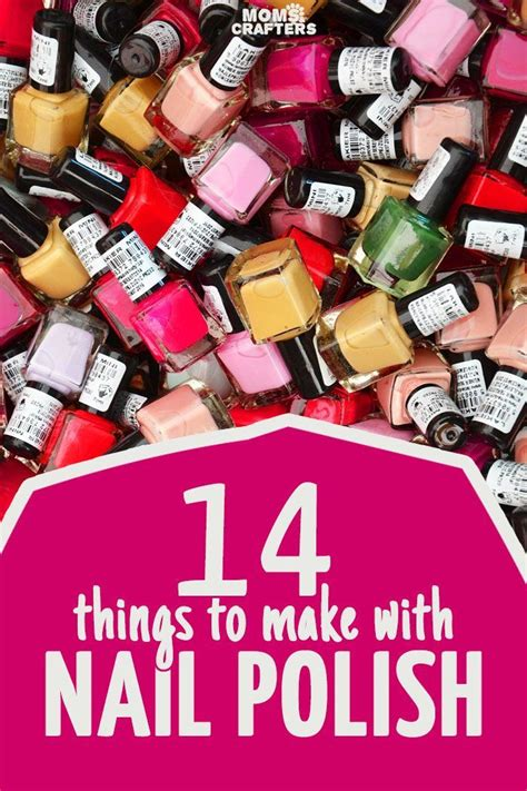 cool     nail polish middle school nail polish crafts diy crafts