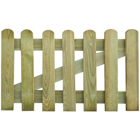 cancello giardino cancello in legno per giardino 100 x 60 cm vidaxl it