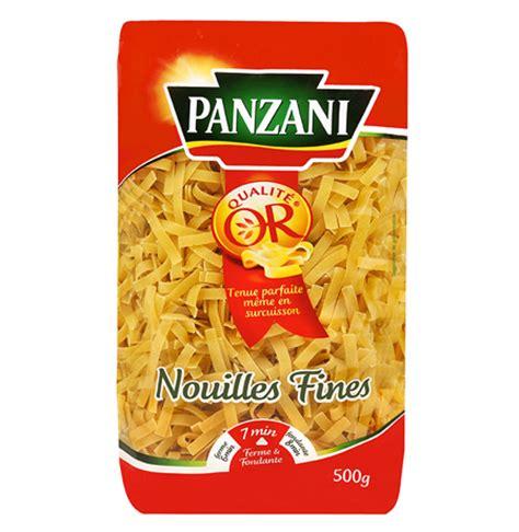 emploi cuisine nouilles fines panzani pates longues